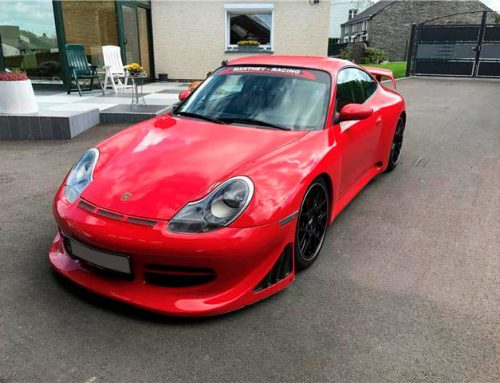 Porsche 996 GT3 rouge