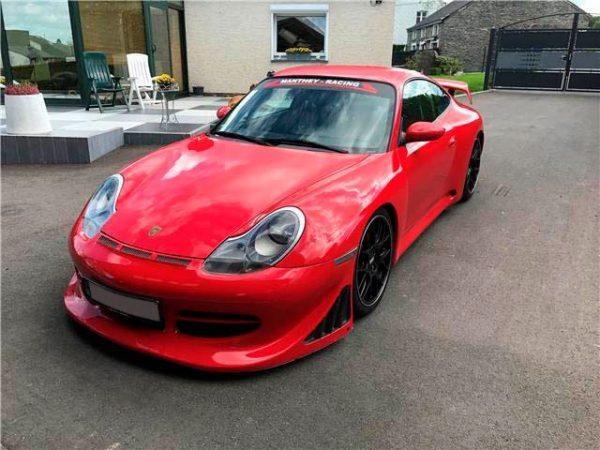 Vente : PORSCHE 996 GT3 – rouge