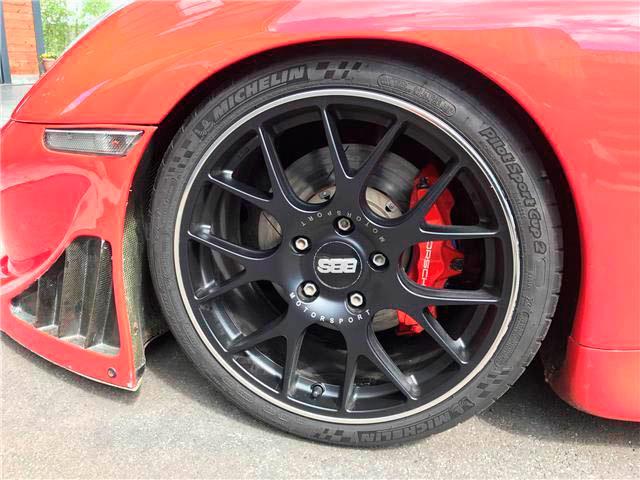PORSCHE 996 GT3 – rouge